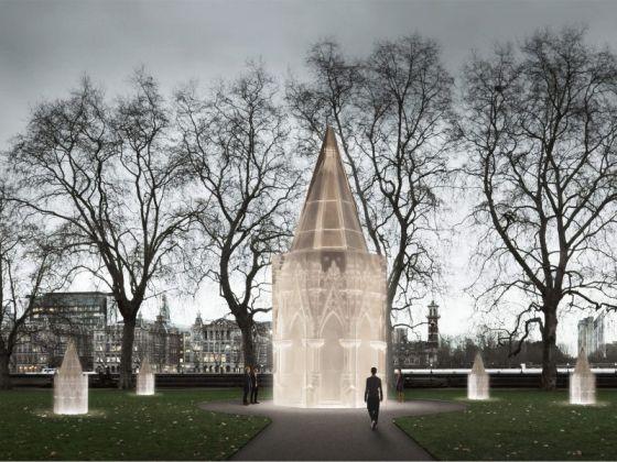 Il progetto di Caruso St. John per il Memoriale alle vittime dell'Olocausto di Londra