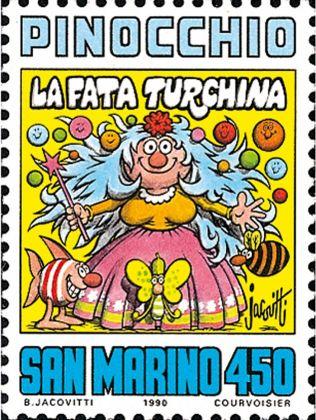 Benito Jacovitti, francobollo San Marino