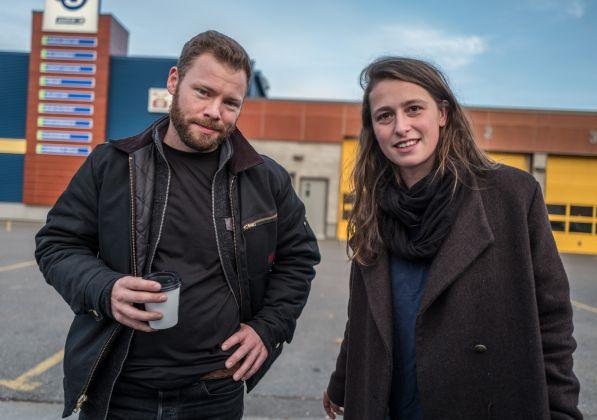 Ian Wiilms e Adrienne Suprenant