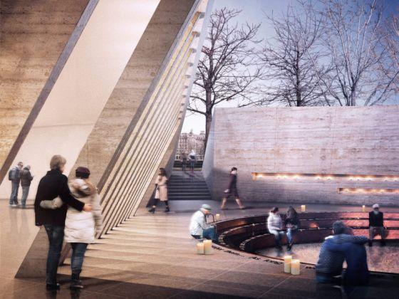 il progetto di John McAsian Partners per il Memoriale alle vittime dell'Olocausto di Londra