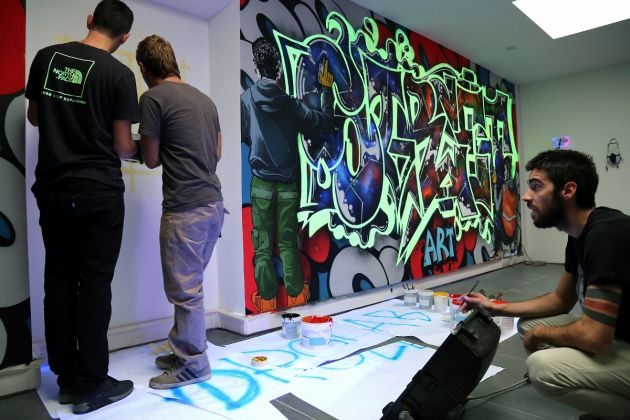 street arts volant, credits Paolo Bosio SaboArt