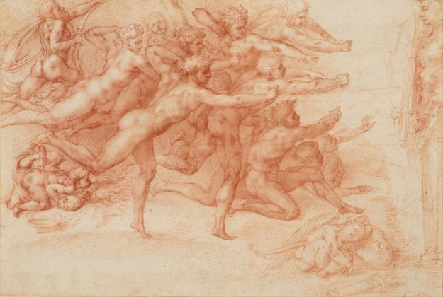 Michelangelo, Archers Shooting at a Herm_HM Queen Elizabeth II, Windsor
