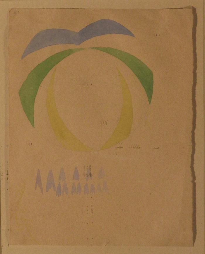 Giacomo Balla, Studio di compenetrazione iridescente, 1912