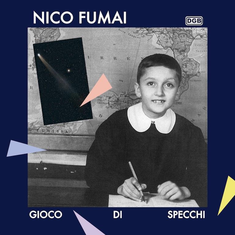 """Chiara Fumai, Gioco di specchi, 2017, cover LP, vinyl 12"""", digital color print, 31 x 31 cm., Ed. 3 + 2 AP"""