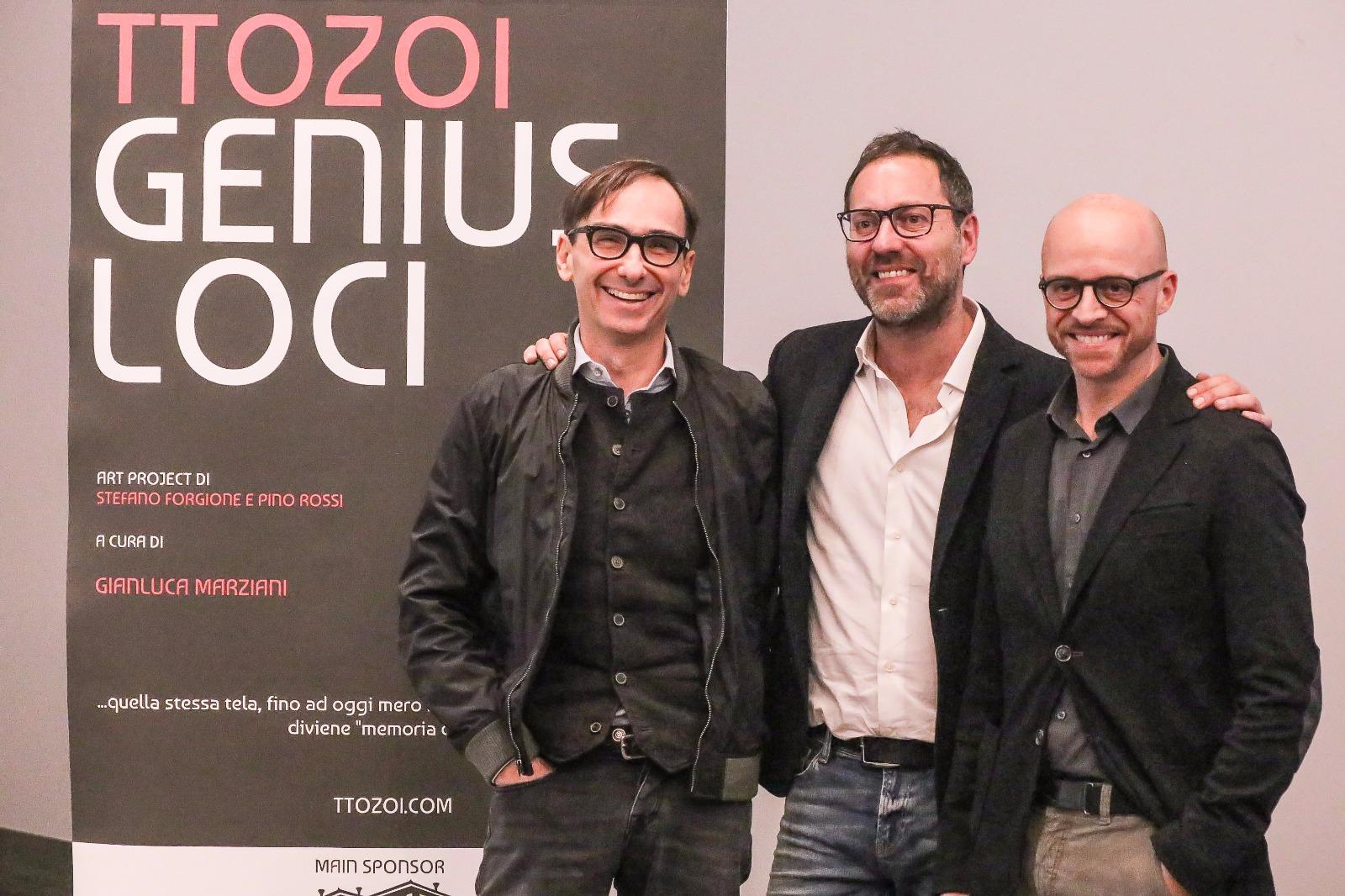 Gianluca Marziani e TTOZOI