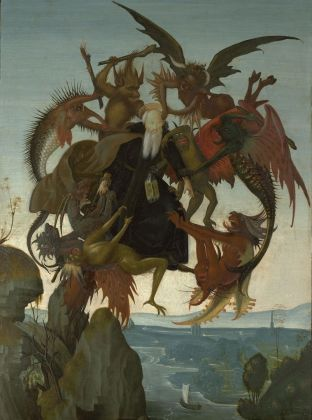 Michelangelo,The Torment of Saint Anthony_Kimbell Art Museum, Fort Worth