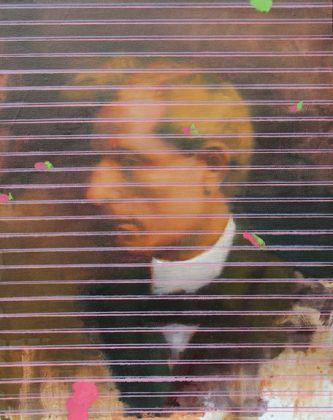 Massimiliano Alioto Hendrik Andersen olio su tela