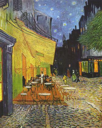 Vincent van Gogh, Terrazza del caffè, 1888, olio su tela, 81 x 65,5, Otterlo, Kröller-Müller Museum