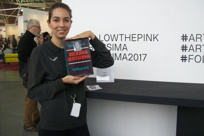 Pino Boresta, L.C.A.A.17 Libri in Cerca di Autore, Artissima 2017