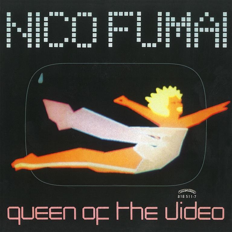 "Chiara Fumai, Queen of the Video, 2017, cover single, vinyl 7"", digital color print, 18 x 18 cm., Ed. 3 + 2 AP"