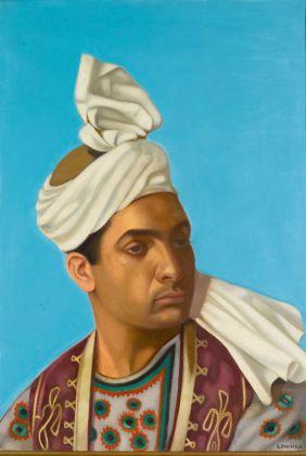 Tamara de Lempicka INDIEN À TURBAN (INDIAN WITH A TURBAN)
