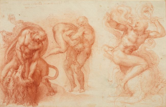 Michelangelo, Three Labours of Hercules, Queen Elizabeth II, Windsor
