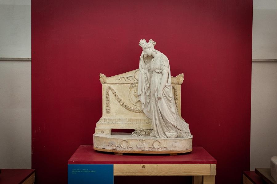 Antonio Canova, modello per il Monumento funebre a Vittorio Alfieri, ph. Marco Bello