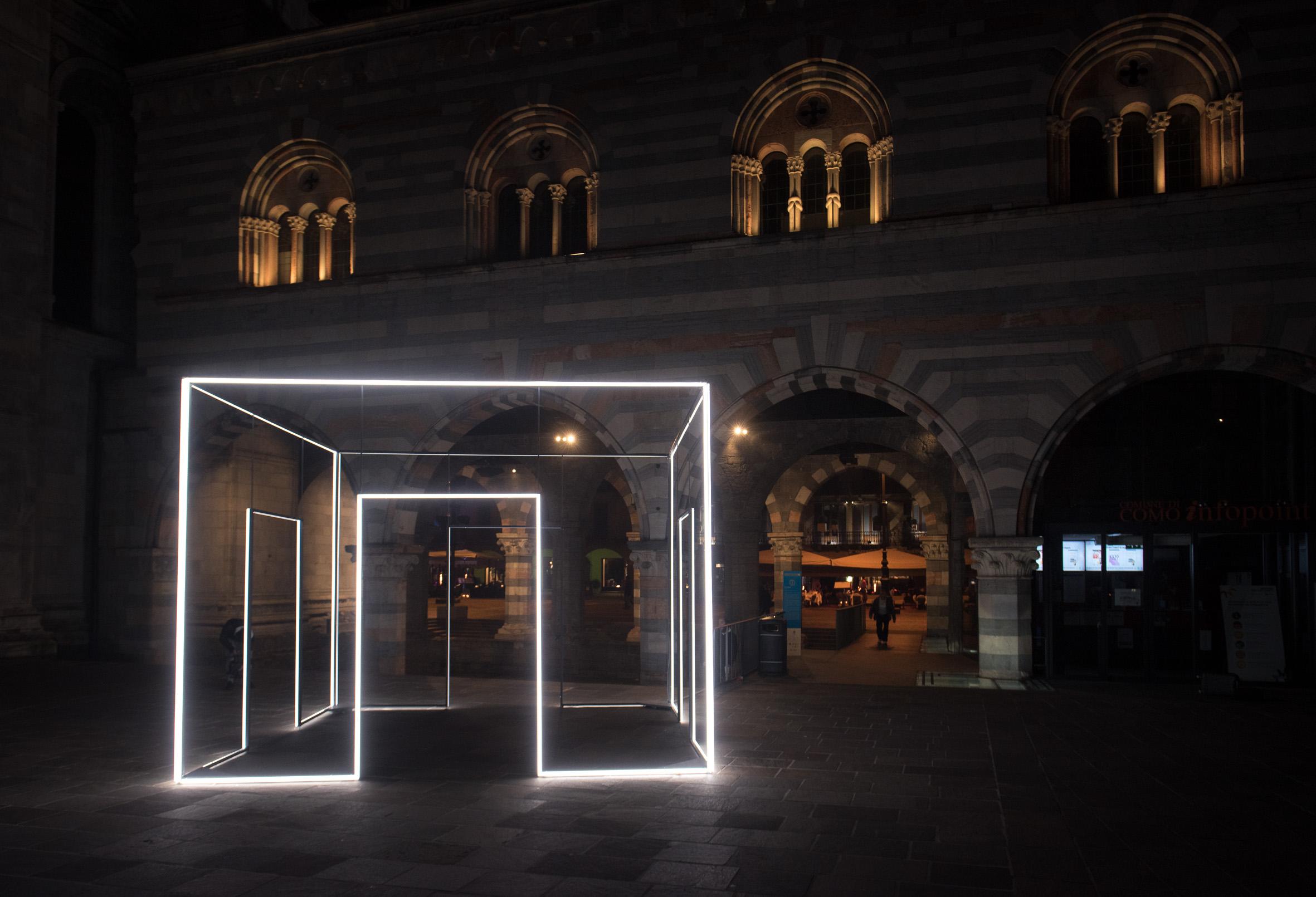 8208 Lighting Design Festival 2017, Como. Massimo Uberti. Photo Andrea Butti