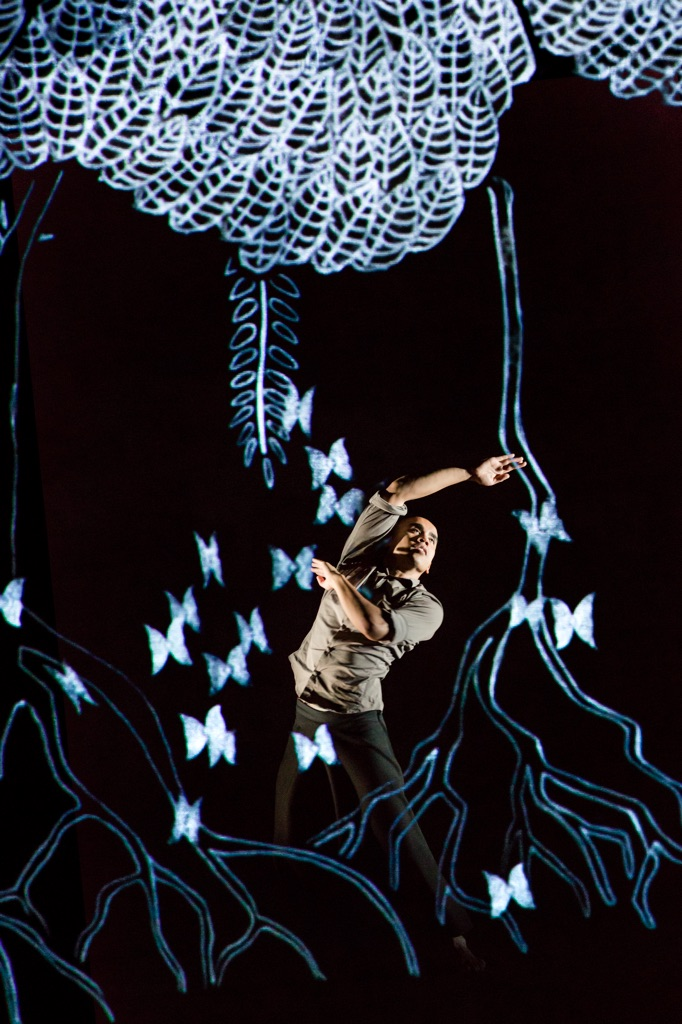 Akram Khan, Chotto Desh. Dancer Nicolas Ricchini