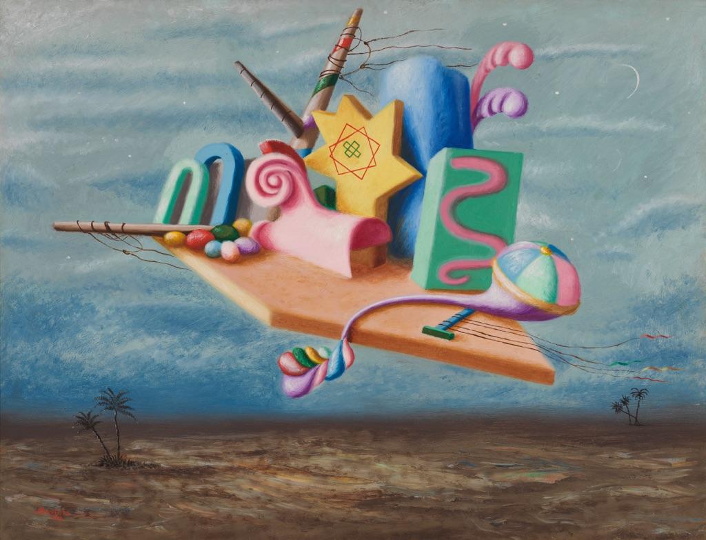 Alberto Savinio, I re magi, 1929. Mart – Museo di arte moderna e contemporanea di Trento e Rovereto, Rovereto (c) 2017 Artists Rights Society (ARS) _ SIAE, Rome. Photo Dario Lasagni