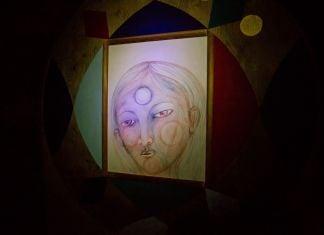 Allegra Corbo. Troglodyte in the Totem. Installation view at USB Gallery, Jesi 2017