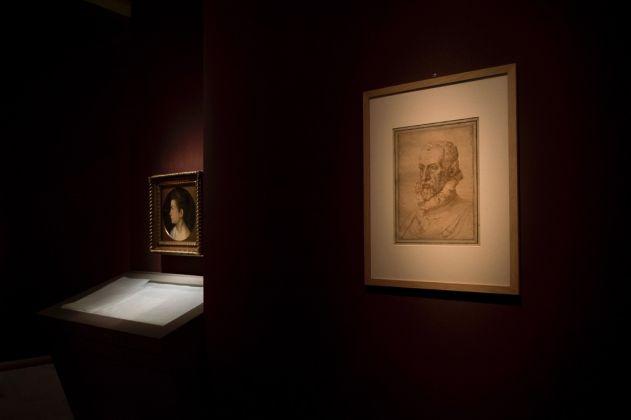 Arcimboldo. Exhibition view at Gallerie Nazionali di Arte Antica di Palazzo Barberini, Roma 2017