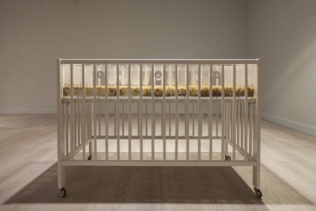 Aude Pariset, Toddler Promession®, 2016, courtesy of the artist and SANDY BROWN (Berlin), photo Sahir Uğur Eren, 15th Istanbul Biennial