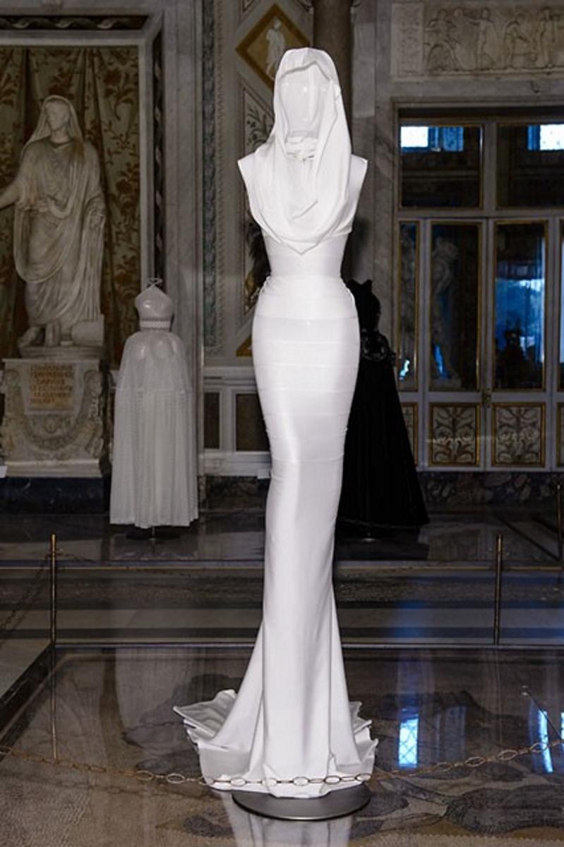 Azzedine Alaïa, credits Gorunway per Altaroma Couture/Sculpture