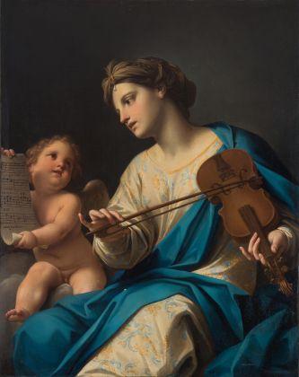 BLINDARTE ,25 novembre, Lotto 274, Marcantonio Franceschini, La Musica (santa Cecilia), Olio su tela,