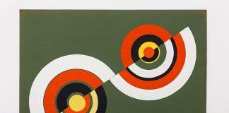 Betty Danon, Dimensione cerchio, 1969-72, collage, cm 50 x 70
