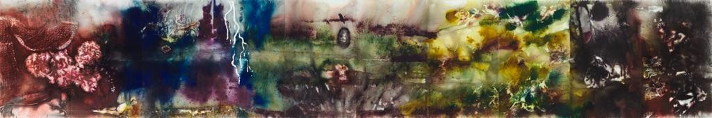Cai Guo Qiang, Spirito della pittura. Museo del Prado, Madrid 2017