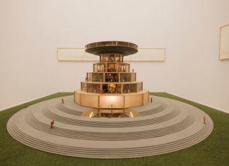 Carlos Garaicoa, Campus o la Babel del conocimiento, 2002 04. Courtesy l'artista & Galleria Continua. Courtesy Fondazione Merz. Photo Andrea Guermani
