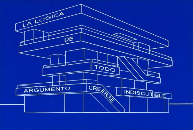 Carlos Garaicoa, dalla serie Talking Buildings (La lógica de todo argumento creerse indiscutible), 2011. Photo Credits Oak Taylor Smith