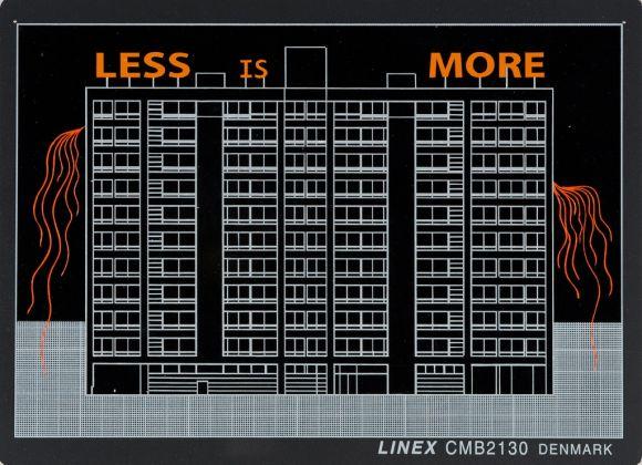Carlos Garaicoa, dalla serie Talking Buildings (Less is More), 2011. Photo Credits Oak Taylor Smith