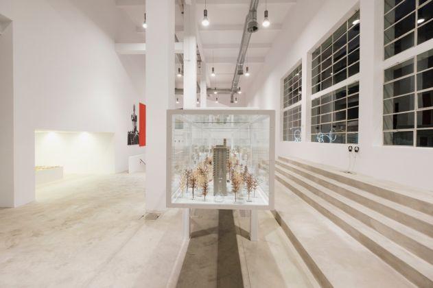 Carlos Garaicoa. El Palacio de las Tres Historias. Exhibition view at Fondazione Merz, Torino 2017. Photo Andrea Guermani