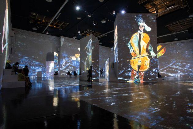 Chagall. Sogno di una notte d'estate. Exhibition view at Museo della Permanente, Milano 2017