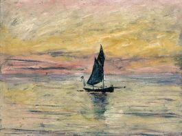 Claude Monet, Barca a vela. Effetto sera, 1885 Parigi, Musée Marmottan Monet © Musée Marmottan Monet, paris c Bridgeman Giraudon presse