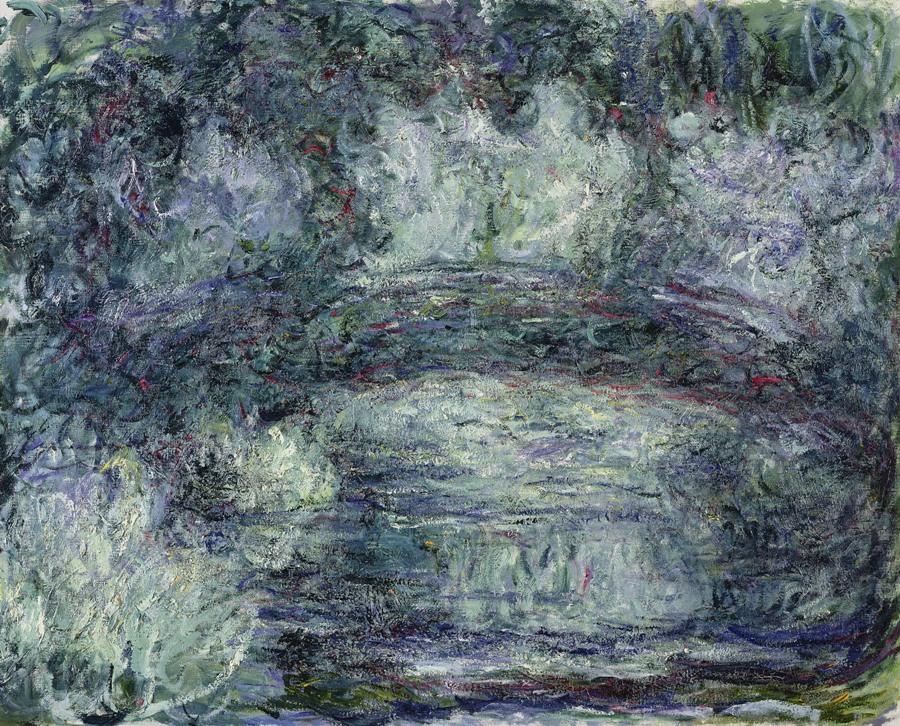 Claude Monet, Il ponte giapponese, 1918 19 Parigi, Musée Marmottan Monet © Musée Marmottan Monet, paris c Bridgeman Giraudon presse