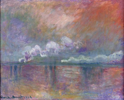 Claude Monet, Ponte di Charing Cross. Fumo nella nebbia. Impressione, 1902 Parigi, Musée Marmottan Monet © Musée Marmottan Monet, paris c Bridgeman Giraudon presse