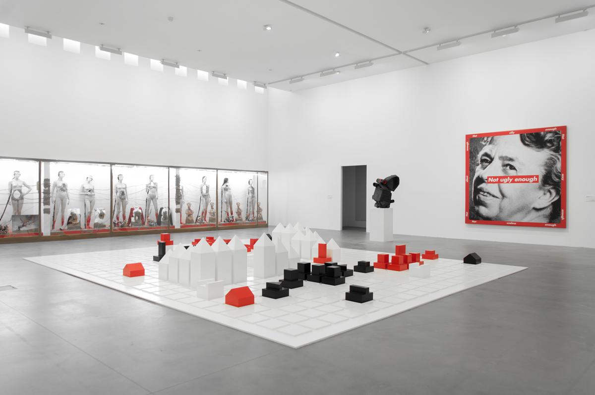 Come una falena alla fiamma. Exhibition view at Fondazione Sandretto Re Rebaudengo, Torino 2017. Photo Irene Fanizza