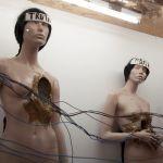 Come una falena alla fiamma. Thomas Hirschhorn. Exhibition view at Fondazione Sandretto Re Rebaudengo, Torino 2017. Photo Irene Fanizza