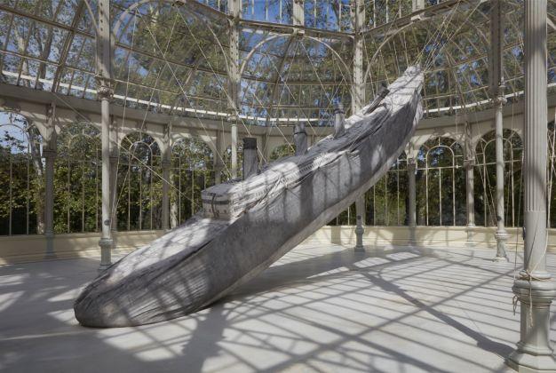 Damian Ortega Monumento, 2016 Installation at the Palacio de Cristal, Museo Nacional Centro de Arte Reina Sofia, Madrid © Joaquín Cortés Román Lores