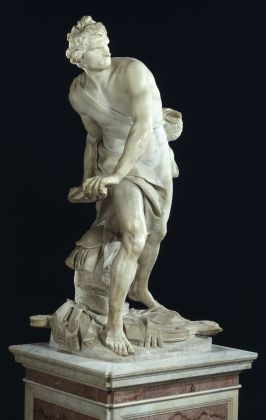 David, G.L. Bernini, copyright Ministero dei Beni e delle Attività Culturali e del Turismo, Galleria Borghese