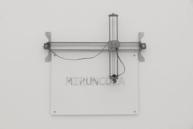 David Reimondo. Le parole che non esistono. Exhibition view at David Reimondo. Le parole che non esistono, Milano 2017