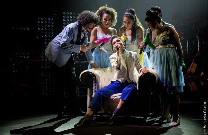 Don Giovanni di Mozart secondo l'Orchestra di Piazza Vittorio, Teatro Olimpico, Roma. Photo credit Manuela Giusto
