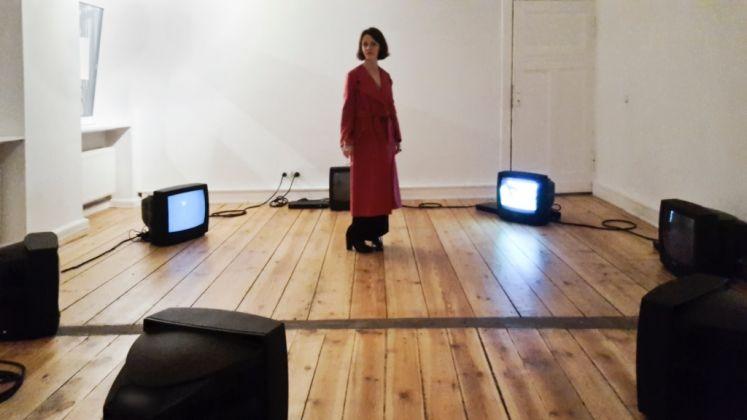 Eleonora Roaro. Loops. Exhibition view at Luisa Catucci Gallery, Berlino 2017