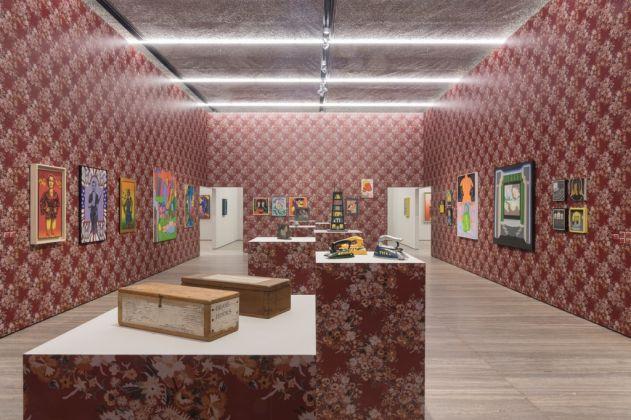 Famous Artists from Chicago. 1965-1975. Exhibition view at Fondazione Prada, Milano 2017. Photo Roberto Marossi. Courtesy Fondazione Prada