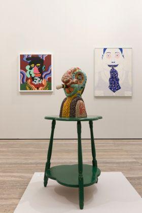 Famous Artists from Chicago. 1965-1975. Karl Wirsum. Exhibition view at Fondazione Prada, Milano 2017. Photo Roberto Marossi. Courtesy Fondazione Prada