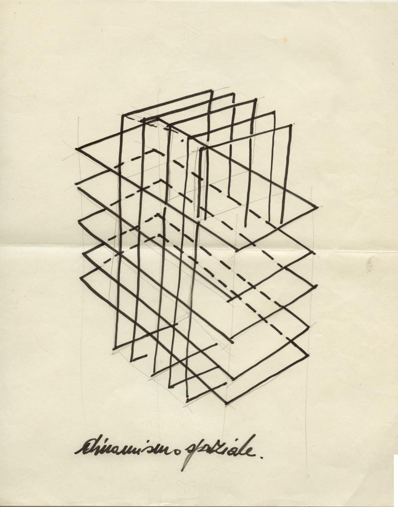 Francesco Lo Savio, Dinamismo spaziale, 1960 61, Collezione privata
