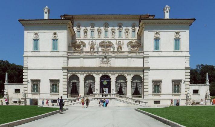 Galleria Borghese, facciata
