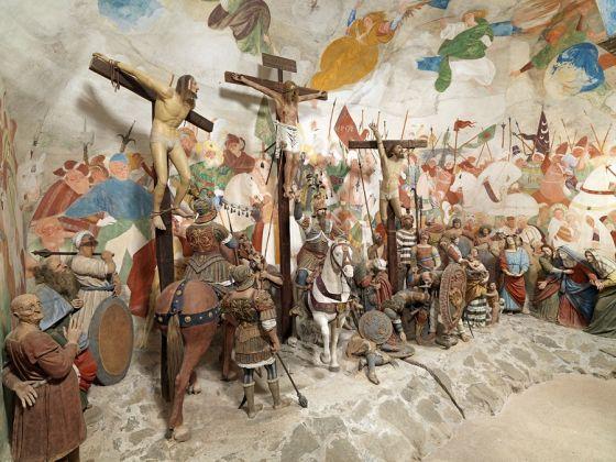 Gaudenzio Ferrari, Crocifissione, 1520 c.a. Cappella 38, Sacro Monte di Varallo (VC). Foto di Mauro Magliani, Barbara Piovan, Marco Furio Magliani