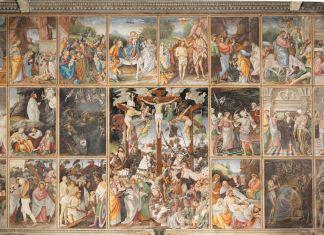 Gaudenzio Ferrari, Storie della vita di Gesù, 1513. Chiesa di Santa Maria delle Grazie Varallo (VC) Foto di Mauro Magliani, Barbara Piovan, Marco Furio Magliani