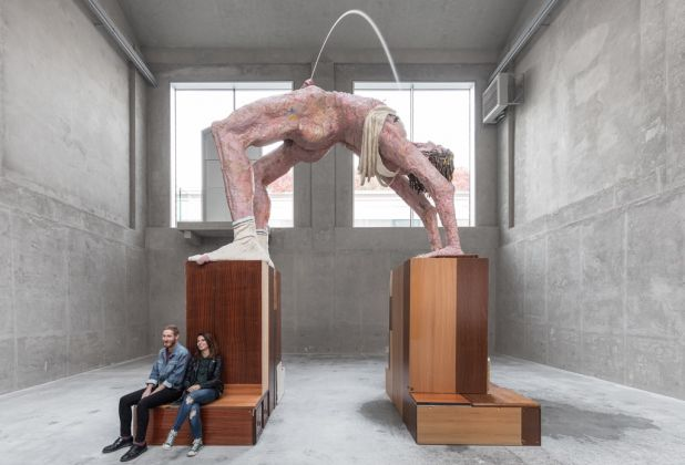 Gelitin, Arc de triomphe, 2003:2017. Installation view at Fondazione Prada, Milano 2017. Photo Delfino Sisto Legnani e Marco Cappelletti. Courtesy Fondazione Prada