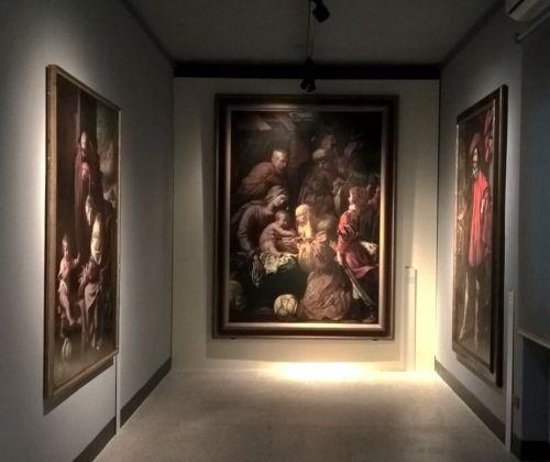Genovesino. Exhibition view at Museo Civico Ala Ponzone, Cremona 2017. Photo Stefano Bruzzese
